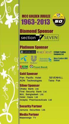Event Sponsors (Golden Jubilee)