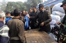 Warm Cloth Distribution on Jan 2013 at North bengal